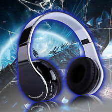 Wireless Bluetooth Gaming Headphone Stereo Headset W/mic for Sony Ps4 iPhone PC