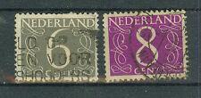 Niederlande Briefmarken 1954/57 Freimarken Mi.Nr.646+691