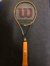 RARE/NEW/Wilson Pro Staff 6.0 85 Tennis Racquet 2x Sampras Autograph