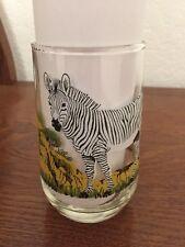 New listing Cape Mountain Zebra Brockway Endangered Species Glass Drinking Tumbler Barware