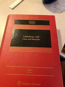 Criminal Law (Kaplan, 8th Ed)