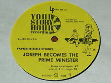 YOUR STORY HOUR - RECORD 9 - JOSEPH BECOMES THE PRIME MINISTER / HIS BROTHERS