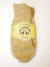 Natural Organic Hand Knit Wool Socks by Mr Woolly Socks