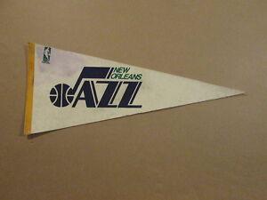 NBA New Orleans Jazz Vintage Circa 1969 Logo Pennant #2