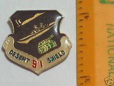 1991 Desert Shield Lapel Pin Navy Army Military , (136) (**)