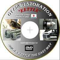 """SUZUKI GT750 """" KETTLE"""" RESTORATION FILM  GREAT CHRISTMAS GIFT"""