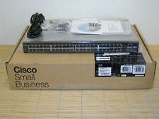 NEU Cisco SF200-48P 48 PoE Fast Ethernet 2 Gigabit Ethernet ports NEW OPEN BOX