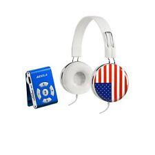 AUDIOLA SDB8811CF USA LETTORE MP3 MICROSD 8GB CON CUFFIE STEREO CONTROLLO VOLUME