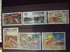 djibouti lot n°774 lot de 6 timbres oblitérés