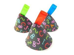 Black ABC / 123, Pee Pee TeePee x 3 // Wee Wee // Baby Shower / Newborn Boy Gift