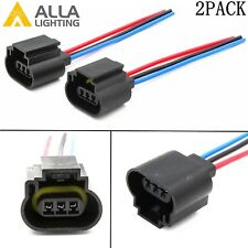 Alla Lighting H13 9008 H13LL Socket Female Adapter Wiring Harness Pigtail Plug