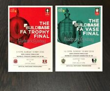 The Buildbase FA Vase and Trophy Finals Non-League Finals Day Programme May 2019