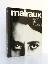 Malraux, la voix de l'Occident, Guy SUARÈS. Guilde du Livre, 1974. Ex. numéroté