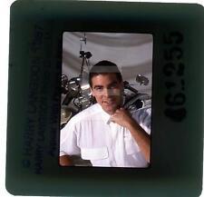 N386 George Clooney Harry Langdon Transparency w/rights