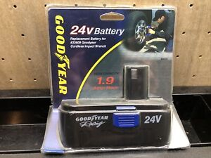 Goodyear Impact Wrench 24V Battery 89058 - NEW - SEALED