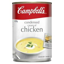 Campbell's Cream of Chicken Condensed Soup Can 420g