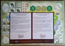 "The Castles of Burgundy Board Game: 4th Expansion Promo ""Monastery Boards"""