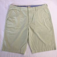 J Crew Men's Shorts Size 36 100% Cotton Lightweight Patterned Green #14053