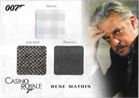 James Bond In Motion Costume Wardrobe Prop Card TC04 Mathis
