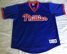 Philadelphia Phillies Jim Thome Majestic Throwback Jersey Size XXL