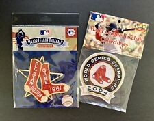 1961 All Star Game Patch + 2004 Boston Red Sox World Series Champions Patch
