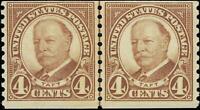 VEGAS - 1930 - Sc# 687 Coil Joint Line Pair - MNH, OG (Natural Gum Gap) -  EN32