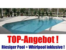 POOL und JACUZZI Ferienhaus in CAPE CORAL Florida USA mieten bis 8 Pers. + Boot