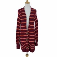 Free People North Beach Cardigan Women's Size S Slouchy Open Knit Long Sweater