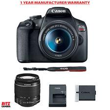 Open Box Canon Eos Rebel T7 Ef-S 18-55mm is Ii Lens