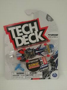 TECH DECK FINESSE SKATEBOARDS SONIC THE HEDGEHOG SERIES 13 New