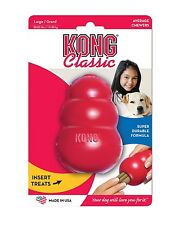 Kong Dog Toy .........Kongs Classic Red Rubber Treat Dispenser -  Large