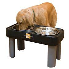 Elevated Dog Feeder Raised Pet Bowl Food Water Dish Stand Large Ergonomic Big XL