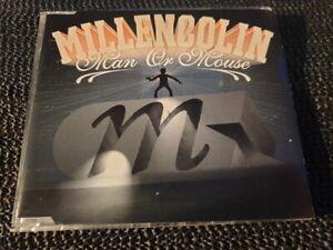 Millencolin - Man Or Mouse - 2002 Burning Heart CD single - oz press - punk