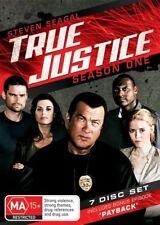 True Justice : Season 1, 7 Disc set (includes bonus episode 'Payback')