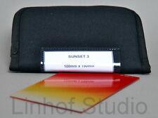 Lee Filters puesta de sol 100x150mm 3 Filtro de resina graduado