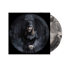 OZZY OSBOURNE - ORDINARY MAN - BLACK - WHITE MARBLED - LP