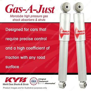 2 x Rear KYB GAS-A-JUST Shock Absorbers for KIA Rio UB I4 FWD Hatch 11-On