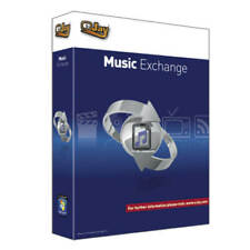 eJay Music Exchange Software audio wav to mp3 convert aac ogg mp4 CD ripper PC.