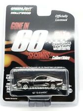 "1967 FORD MUSTANG CUSTOM ""ELEANOR"" CHROME GONE IN 60 SEC. 1/64 GREENLIGHT 51227"