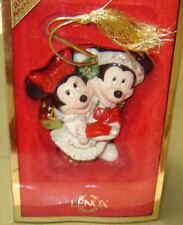 Lenox 2004 Annual Lenox -Disney Mickey & Minnie 1st Christmas Together Ornament