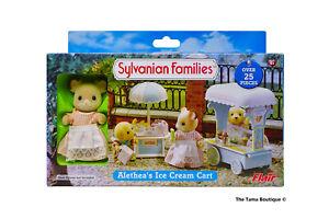 Sylvanian Families Calico Critters Alethea's Ice Cream Cart