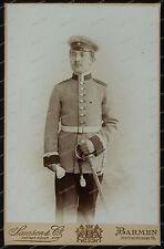 Kabinet-Photo-Atelier Samson&CO-Barmen-studio-Portrait-Militär-Kaiserreich-
