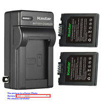 Kastar Battery AC Wall Charger for Panasonic CGA-S001 Leica BP-DC2 LEICA D-LUX