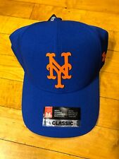New York Mets MLB Under Armour Classic Fit Hat Strap back NWT Blue