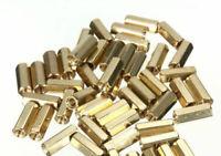 10/20/50PCS M3 12 mm Hexagonal net nut Female brass Standoff/Spacer