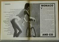PRINCESSE DE MONACO RAINIER GRIMALDI DOSSIERS CANARD ENCHAÎNÉ 1986 MONTE-CARLO
