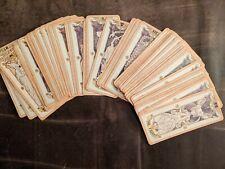 Anime Cardcaptor Clow Sakura Red Divination Tarot Cards Deck 56 Cards