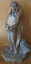 Tom Clark Chief Hollow Horn Bear Great Lakota Indian Warrior and Orator Statue