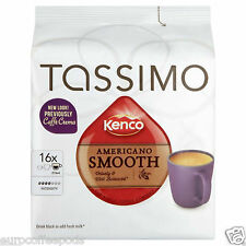 Tassimo Kenco Cafe Crema, Americano Smooth Coffee,  1 Pack 16 t disc
