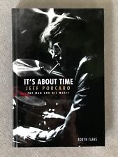 Robyn Flans Jeff Porcaro It'S About Time Hardcover Book Toto Author Signed